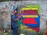 Gambar lukisan mural, grafiti atau lukisan dinding 042