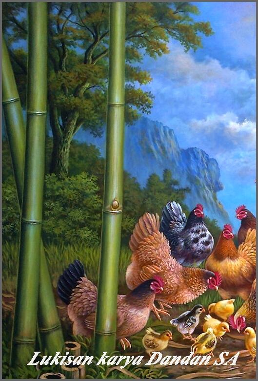 Gallery Lukisan Dandan SA  Pelukis Cianjur  Blog Lukisan