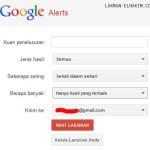 Tahukah anda Google Alerts?