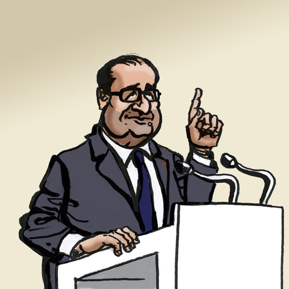 Hollande en campagne