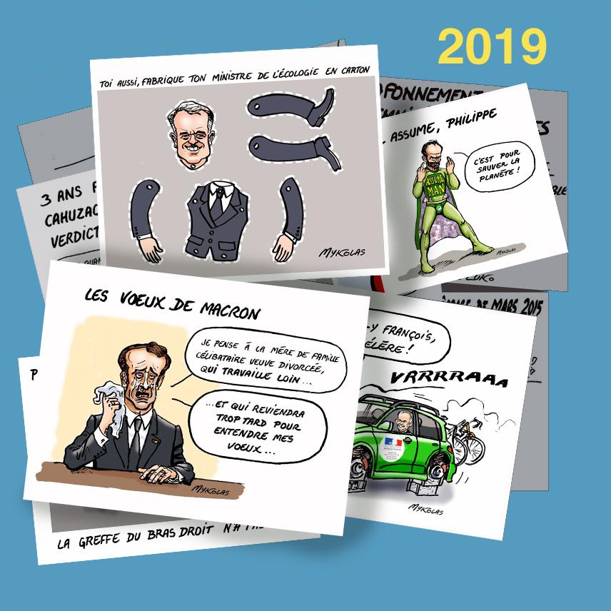 Dessin d'actualité 2019