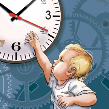 La conscience du temps…
