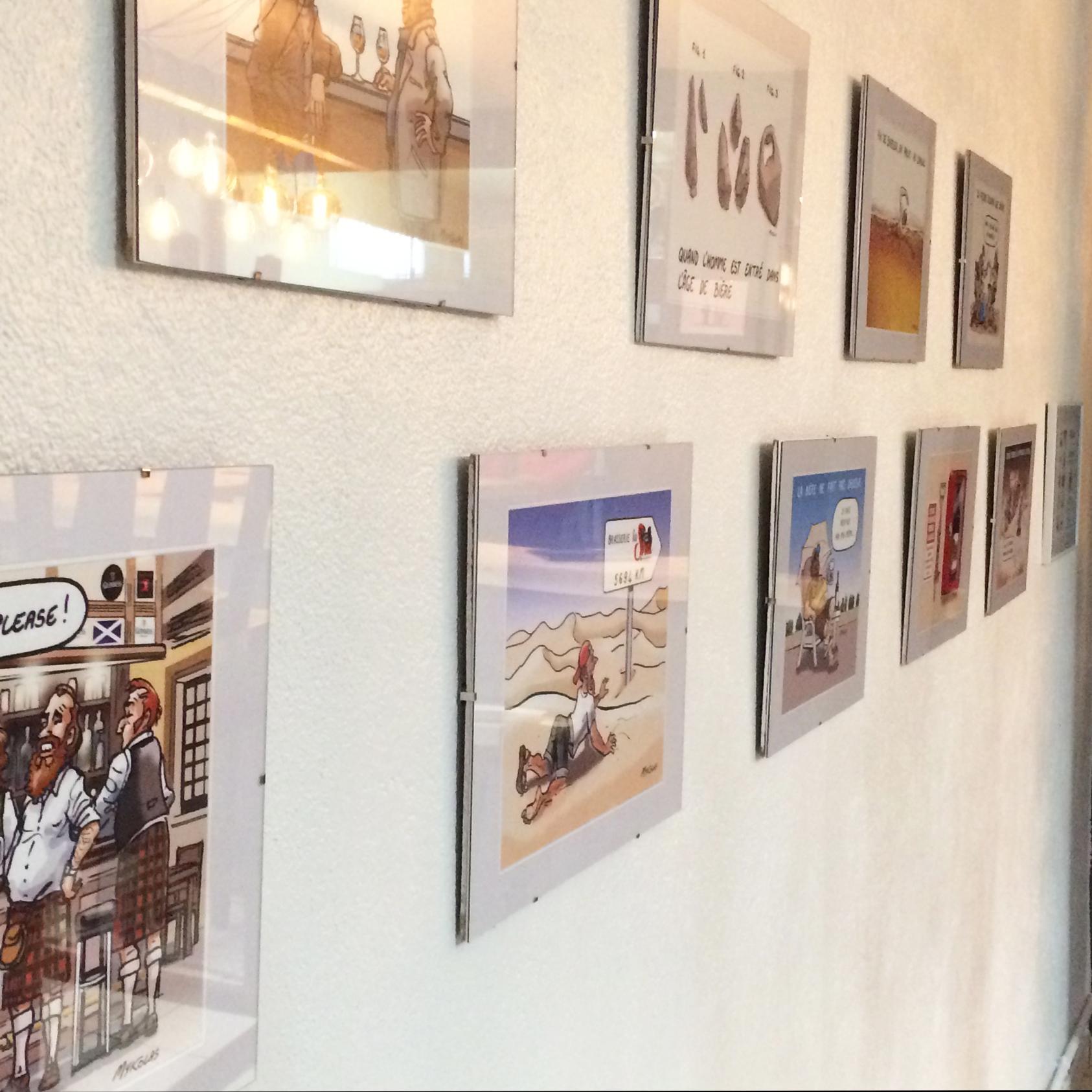 Expo à la Brasserie La Strol