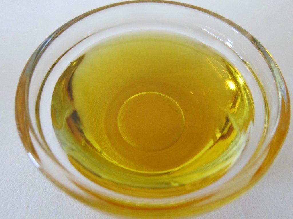 масло растительное от клея