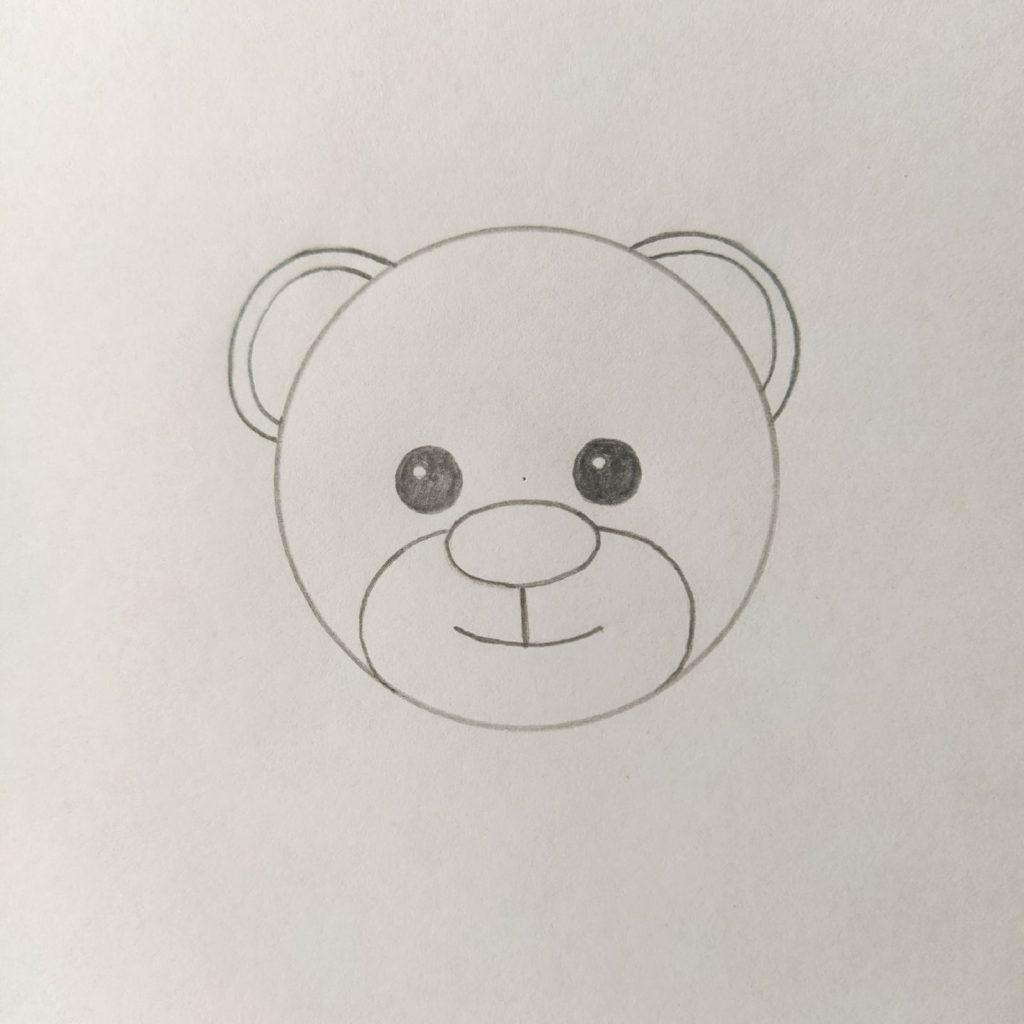 рисунок медведя для детей