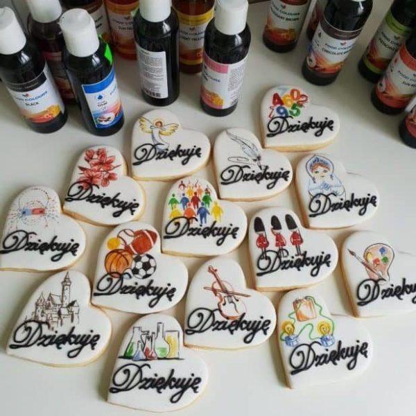 lukrowane ciasteczka dla nauczyciela, basia sweets