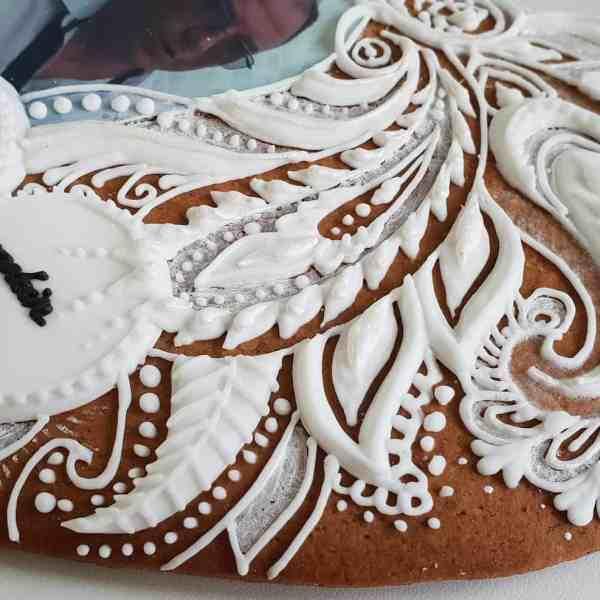 Pierniki urodzinowe ręcznie dekorowane, lukrowane, piękne pierniki - Basia sweets
