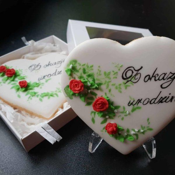 Lukrowane ciasteczka, ręcznie dekorowane, ciasteczka urodzinowe, podziękowania dla gości - Basia sweets