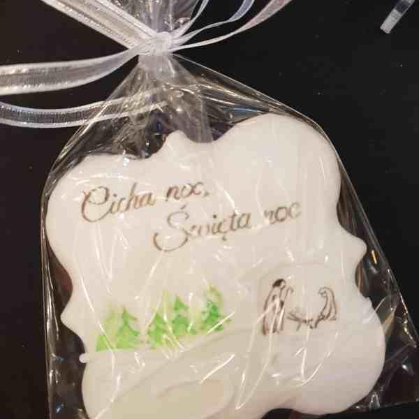Lukrowane ciasteczka Bożonarodzeniowe, lukrowane pierniczki na choinkę - Basia sweets