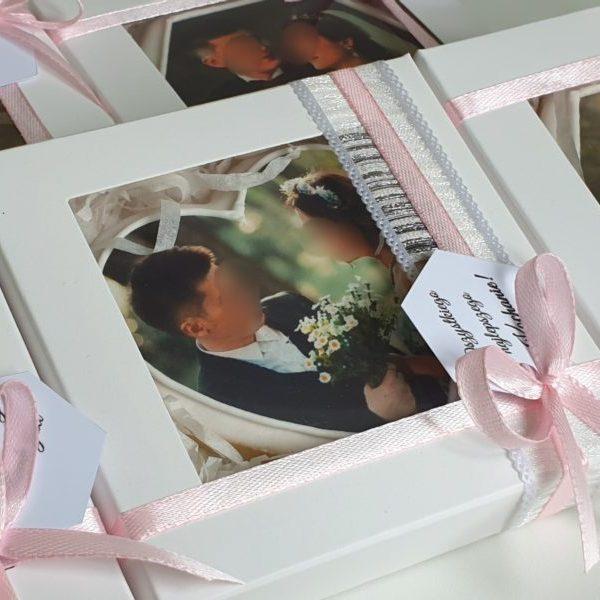 Ciasteczka ślubne, podziękowania ślubne, podziękowania ślubne dla gości, ciasteczka z nadrukiem, ciastka ze zdjęciem, lukrowane ciasteczka na wesele Basia sweets