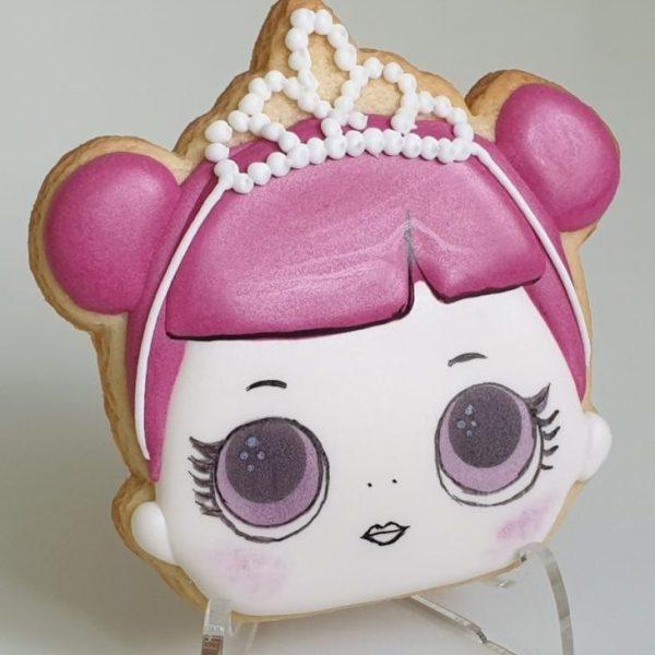 Lol Surprise, lukrowane ciasteczka LOL, ciasteczka urodzinowe Basia sweets