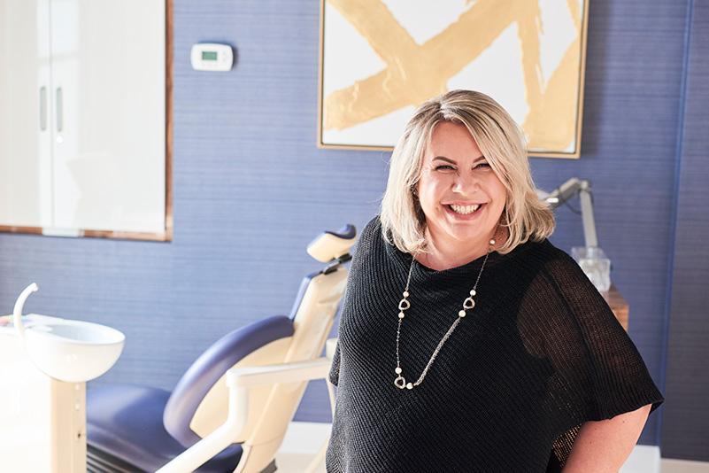 Dr. Virginia Luks, smiling