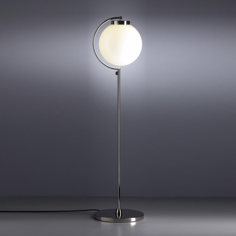 Bauhaus stålampe fra Prof. Richard Döcker