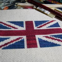 Union Jack Cross Stitch Pattern