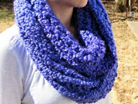 Homespun Thick and Quick Infinity Scarf Pattern for the ...