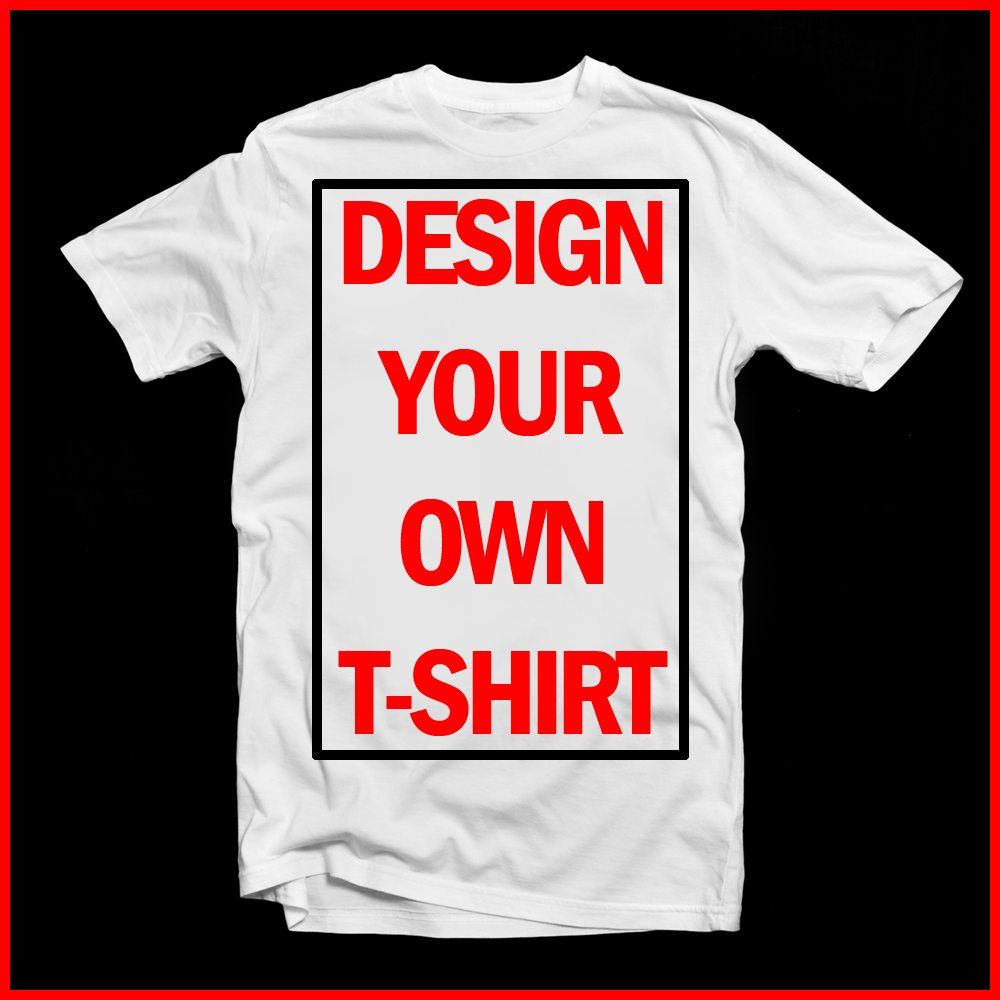 Design Your Own Unisex T Shirt Lulah Blu