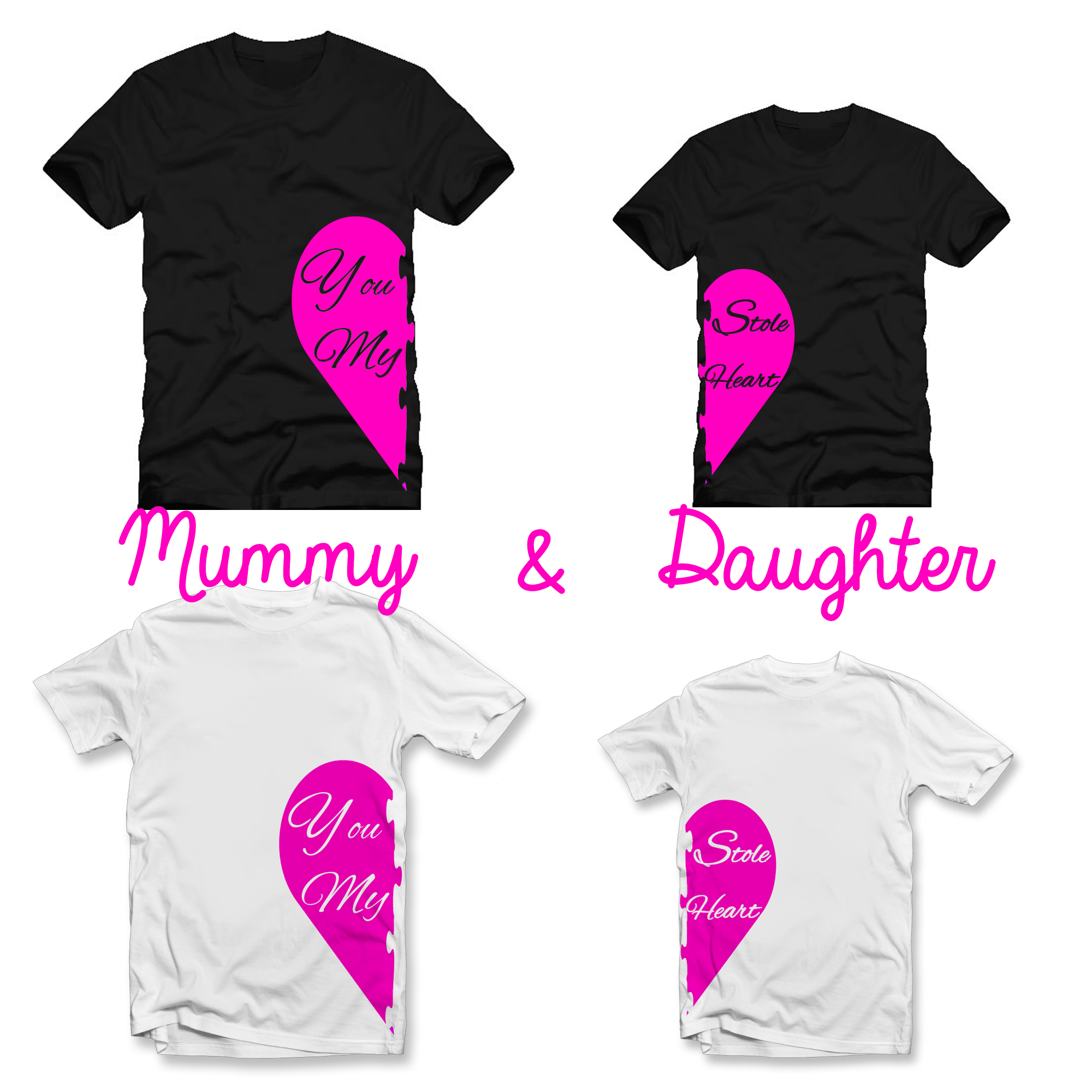 Mother And Daughter You Stole My Heart T Shirt Set Lulah Blu