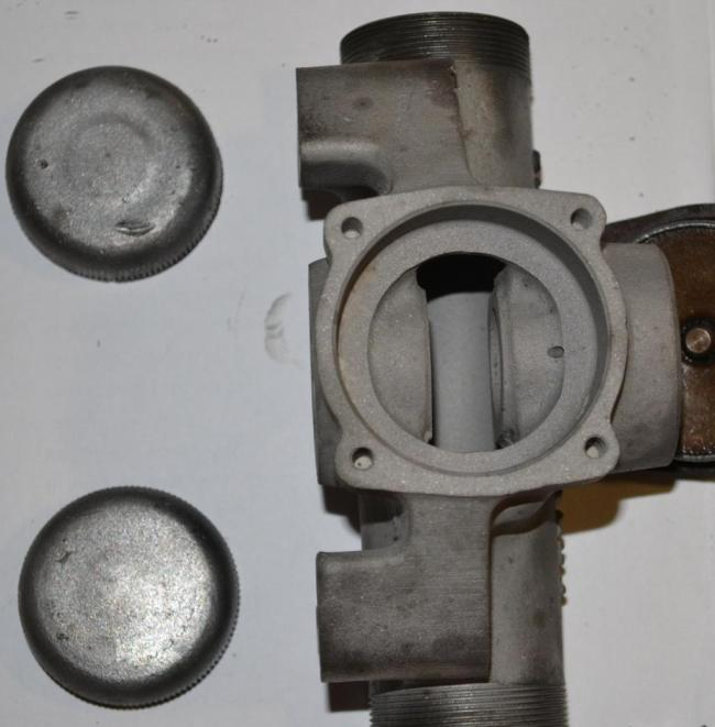 top view, with cam inside