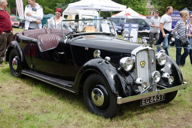 Rover 12 P2 Tourer (1948)