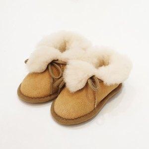 chaussons peau de mouton pour bébé
