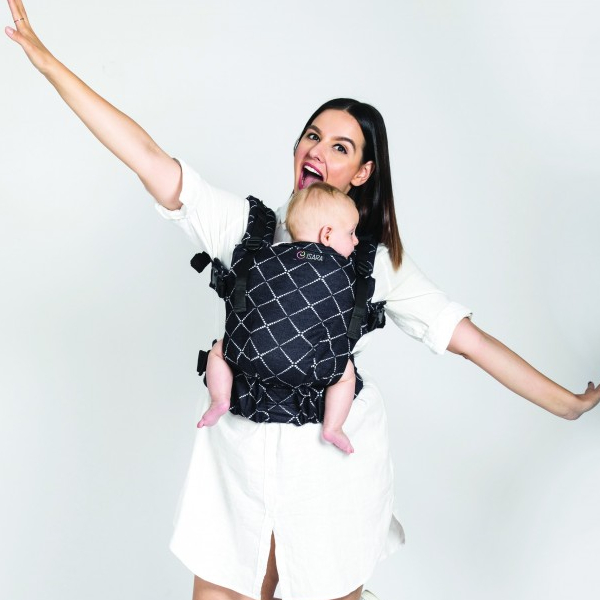 isara porte-bébé évolutif confortable physiologique