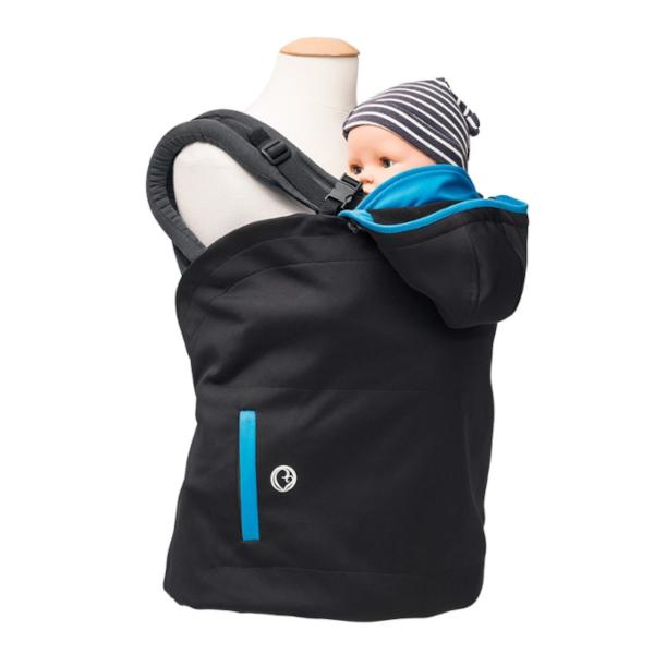 couverture de portage cape protection porte-bébé chaud hiver portage
