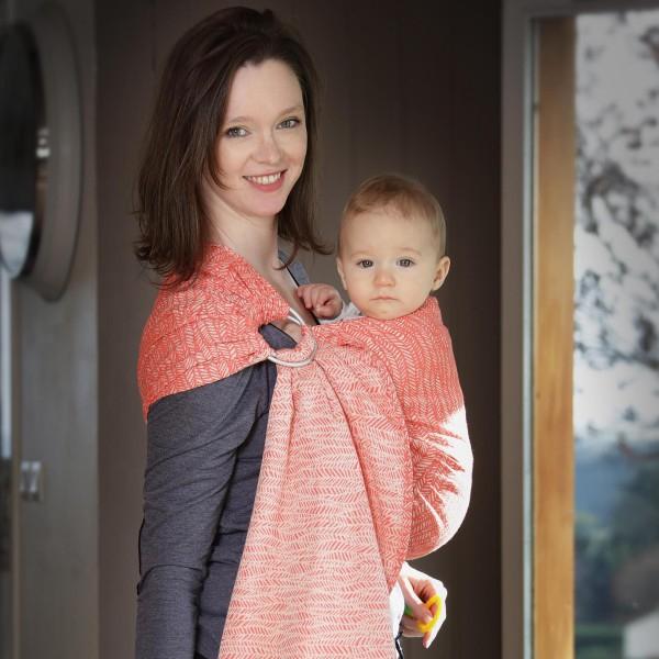 néobulle porte-bébé écharpe de portage sans noeud fabriqué en france coton bio