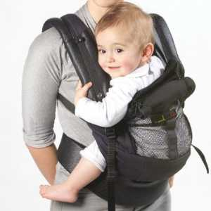 Porte-bébé Love Radius PhysioCarrier Noir, poche Noire