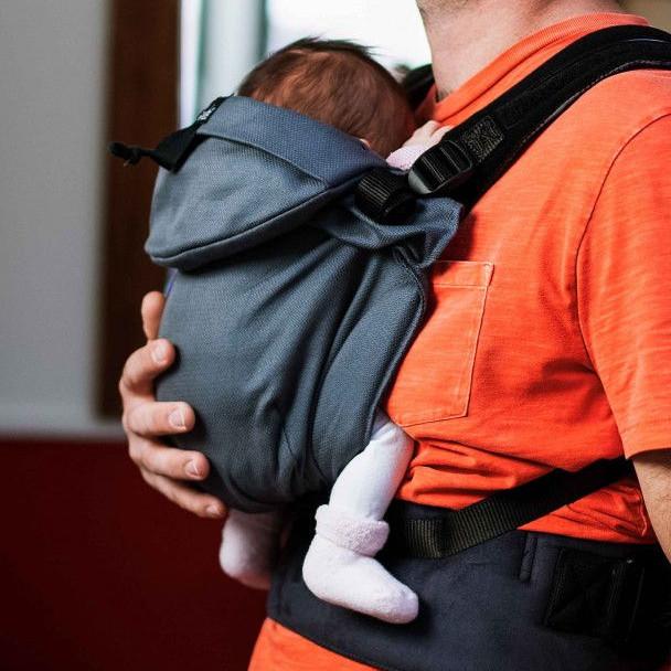 Porte-bébé Néo Néobulle Gris Galet dès la naissance nouveau-né