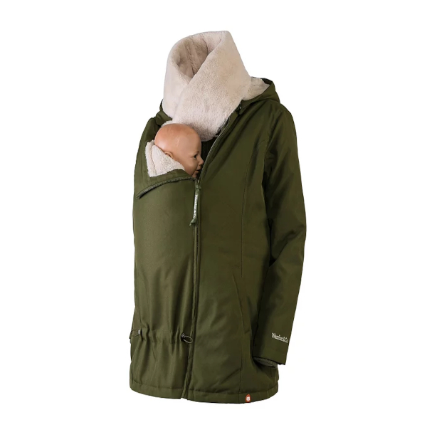 manteau de portage veste doudoune grossesse portage wombat co