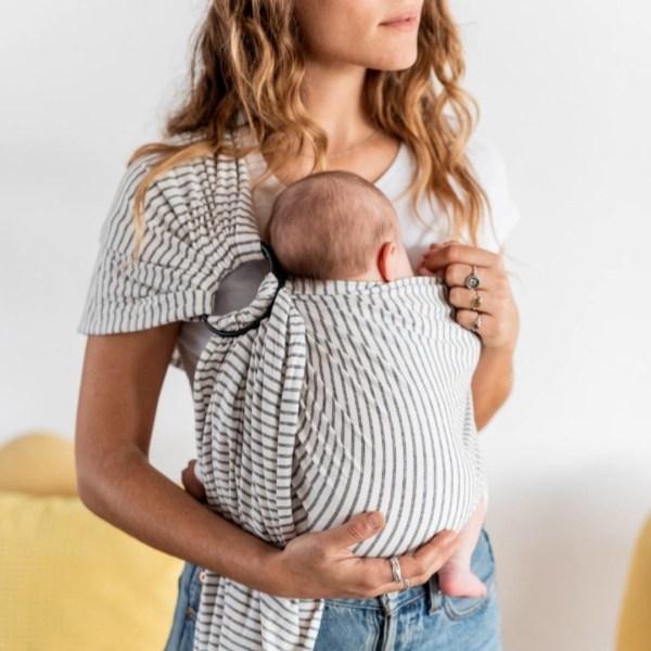 sling écharpe de portage sans noeud baby on earth