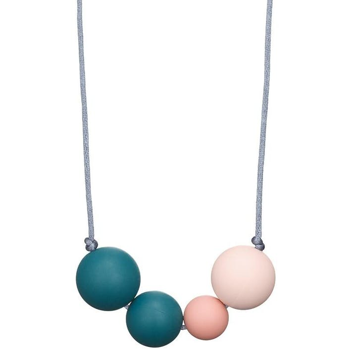 collier de portage allaitement dentition silicone alimentaire mintywendy