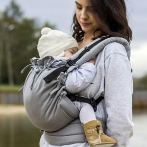 Porte-bébé physiologique Kinder Hop - Multi soft physiologique