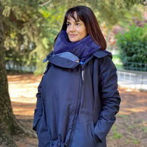 manteau de portage wombat co wallaby bleu