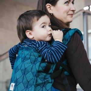 Porte-bébé - Limas Flex - Pava Ocean évolutif ergonomique