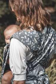 Porte-bébé évolutif - Limas Plus - Flora Cool Grey