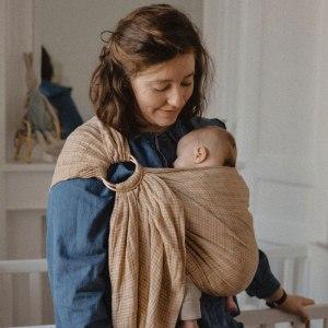 Sling - Bud & Blossom - Chai portage bébé sans noeud