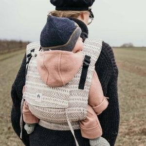 porte-bébé évolutif physiologique Limas Plus mei-tai hybride confortable