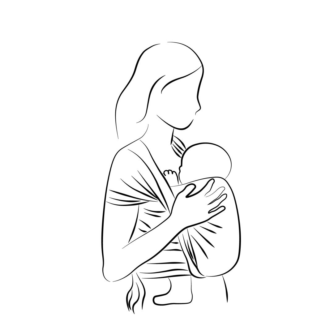 écharpe de portage bébé porter nouveau-né dès la naissance écharpe tissée extensible