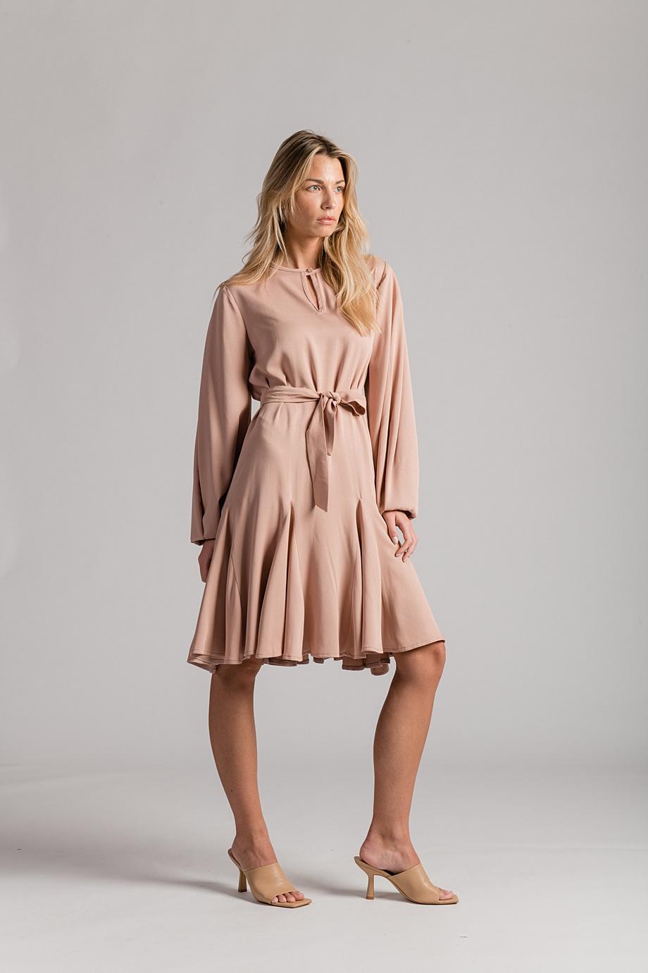 Haljina Vita - 990kn - 100% viskoza - 36-38 - 40-42 - puder roza- LuLu Couture (4)