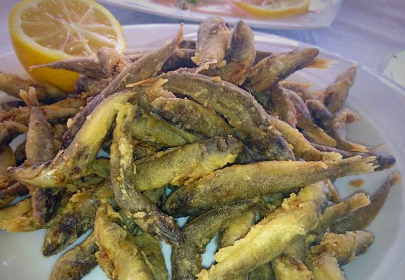 small fish fry, Greecei