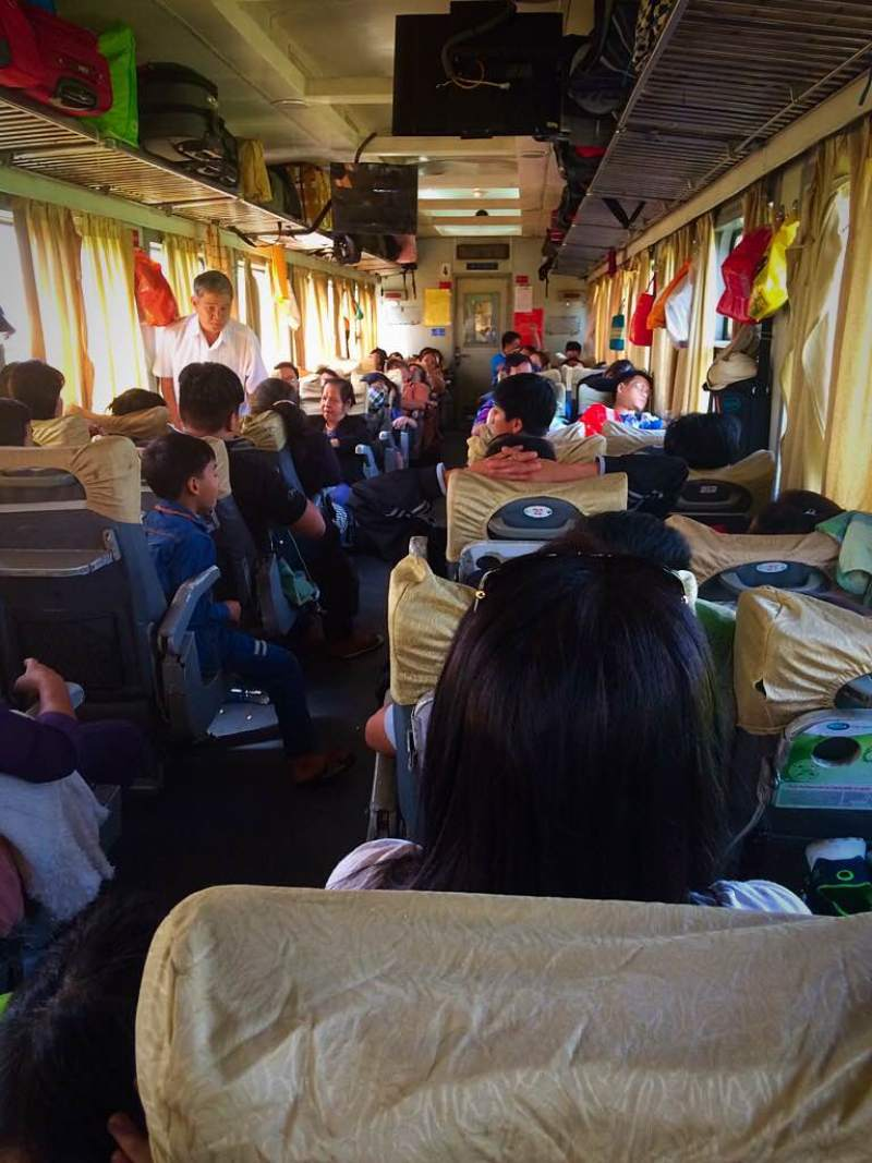 Train to Hoi An