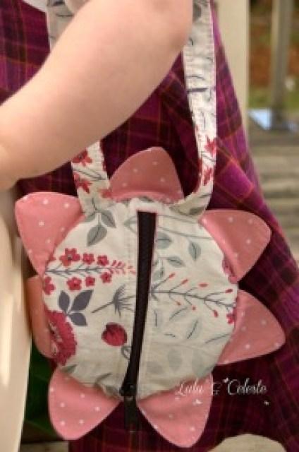Perfect Petal purse a pattern from FABulous Home Sewn, sewn by Lulu&Celeste
