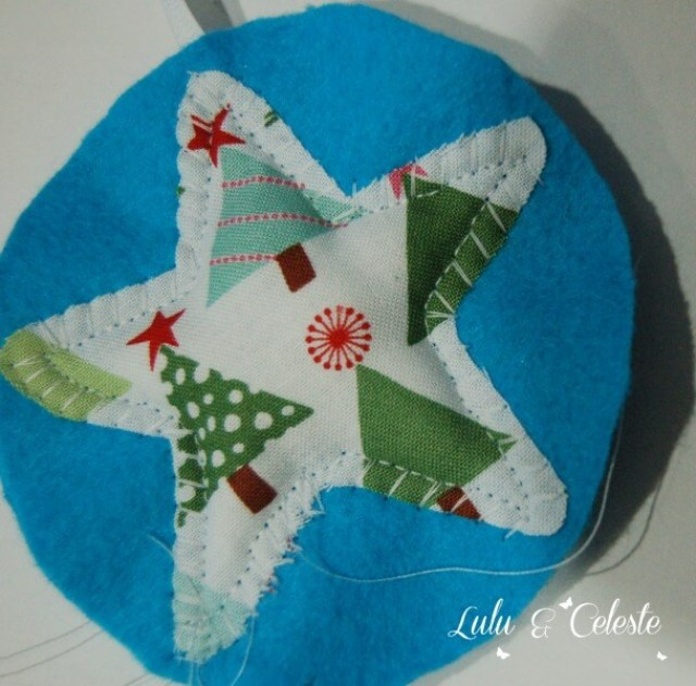Step 5 -Star ornament tutorial Lulu & Celeste