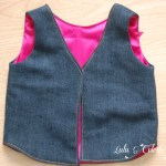Mademoiselle Vest – Project Run & Play