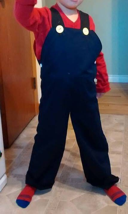 Mario overalls