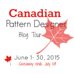 Canadian Designer Pattern Tour Sew Along Link up and Giveaway!