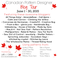 Canadian Pattern Designer Blog Tour at Lulu & Celeste