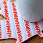 Tutorial: Maple Leaf Mug Rug