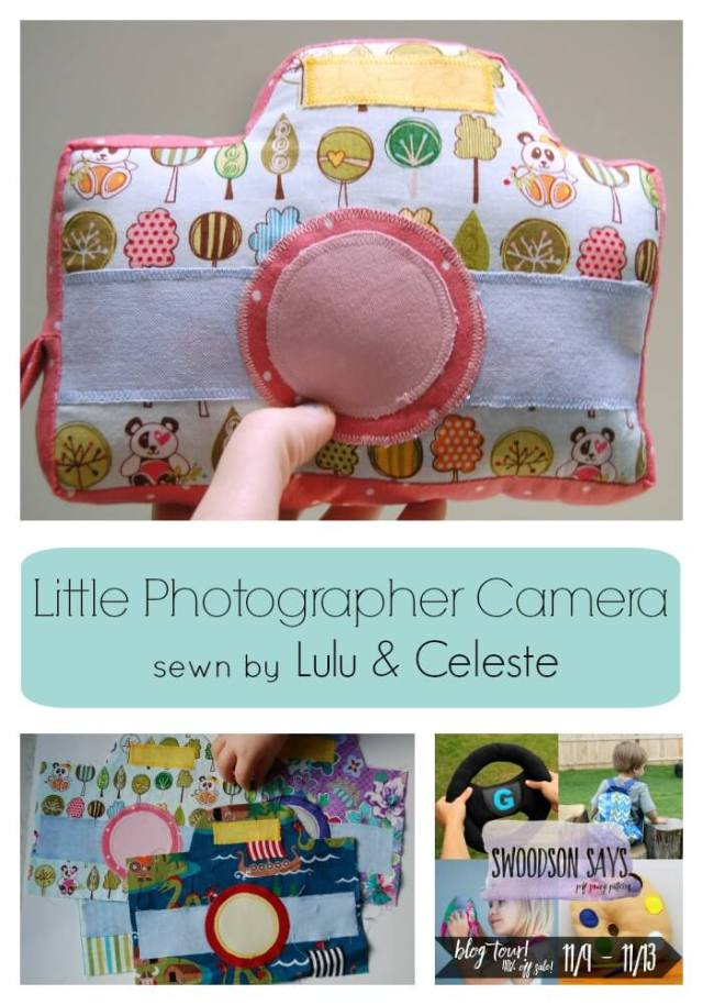 Little Photographer Camera sewn by Lulu & Celeste